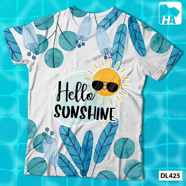 Mẫu áo nhóm lớp du lịch slogan chủ đề ngày hè