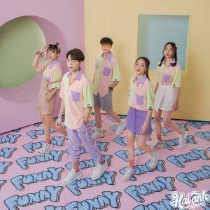 Mẫu áo lớp sơ mi Funny Sunny