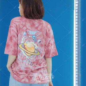 Mẫu áo lớp Patchy Pinky 02