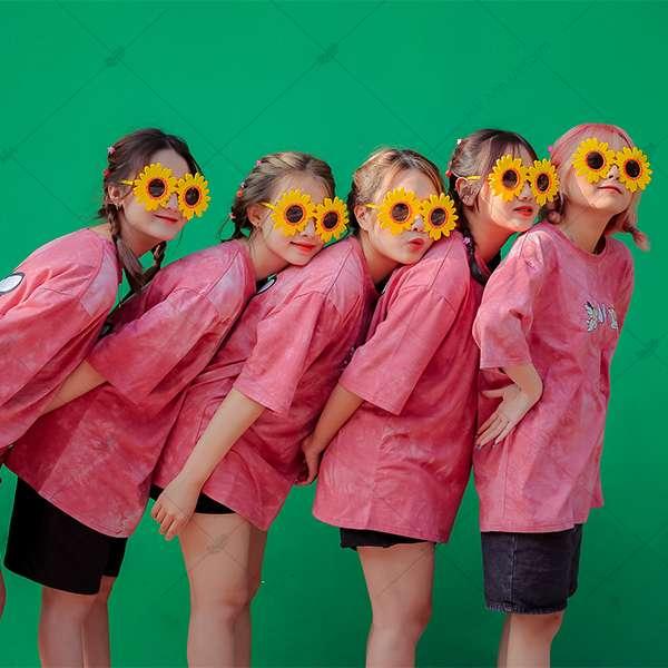 Áo Lớp Patchy Pinky A4
