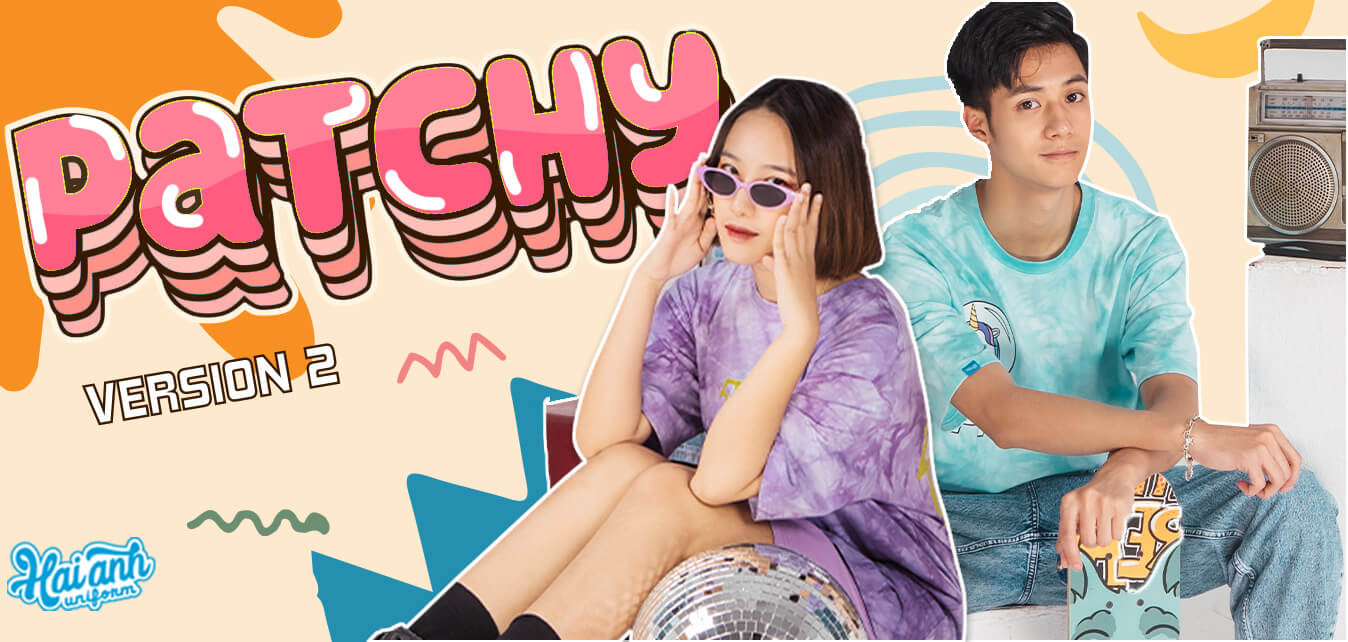 top banner áo lớp patchy